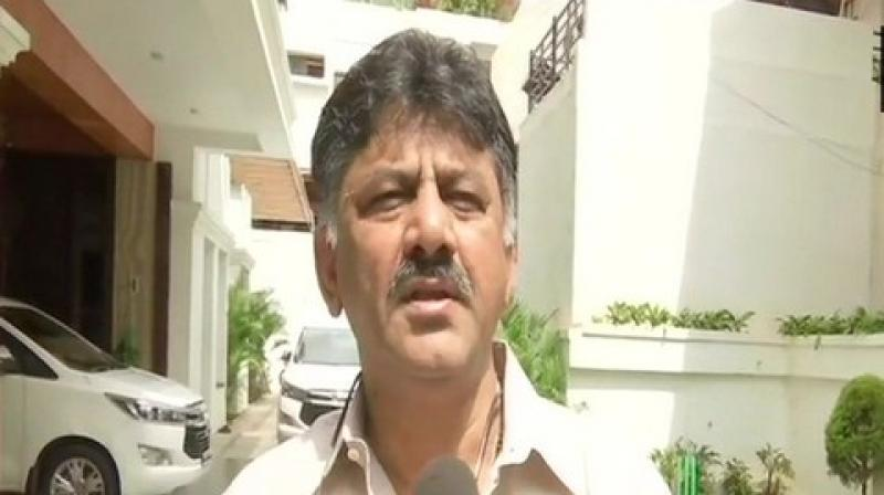 In a statement, Shivakumar said Yatnal had told reporters at Vijayapura on June 23 that he (the Congress leader) has been exerting pressure on BJP leaders and union ministers to ensure that the Income Tax department and the Enforcement Directorate do not puruse cases against him. (Photo: ANI)