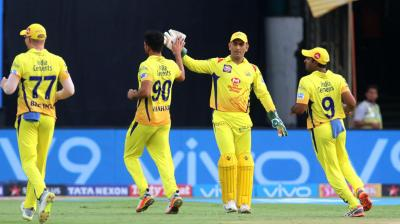 Three wins from four games and six points each against their name, Sunrisers Hyderabad and Chennai Super Kings will lock horns in a Southern derby of the Indian Premier League (IPL). (Photo: BCCI / AP)