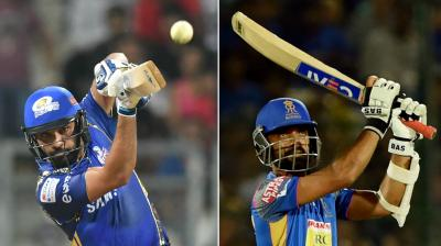 Both captains Rohit Sharma and Ajinkya Rahane know each other very well and fans will be expecting an exciting contest. (Photo: PTI)