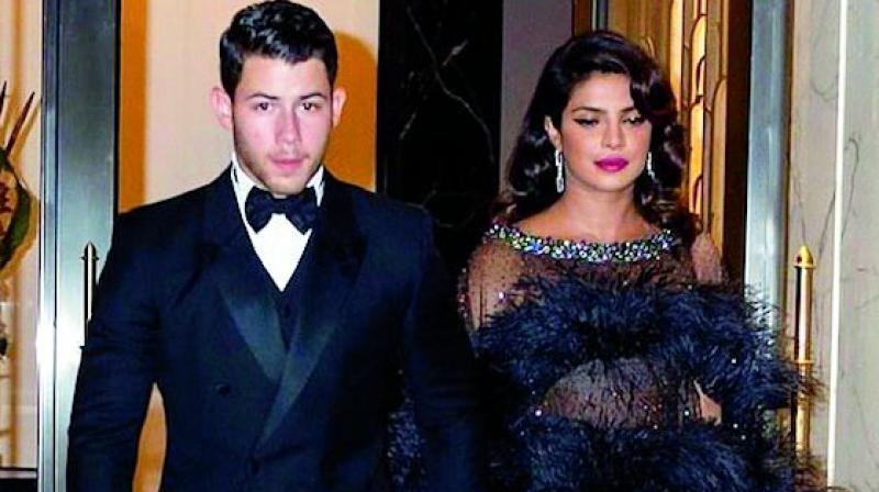 Priyanka Chopra with husband Nick Jonas