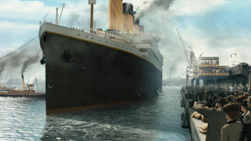 The Titanic's hull was fatally weakened by a fire that had been smouldering in the coal bunker in the boiler room since she left the shipyard in Belfast. (Photo: Facebook)