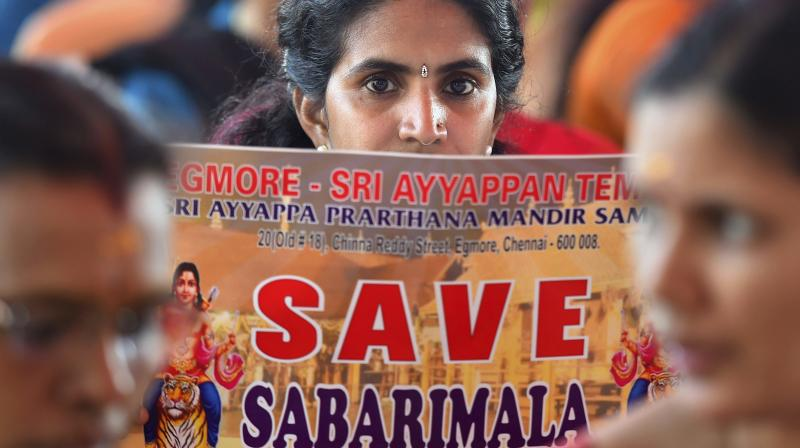 Kerala government should 'apply its mind' and show seriousness to end impasse at Sabarimala, BS Yeddyurappa said. (Photo: File | PTI)