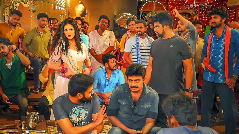 Sunny Leone's song for Telugu film Garuda Vega 126 18M costs