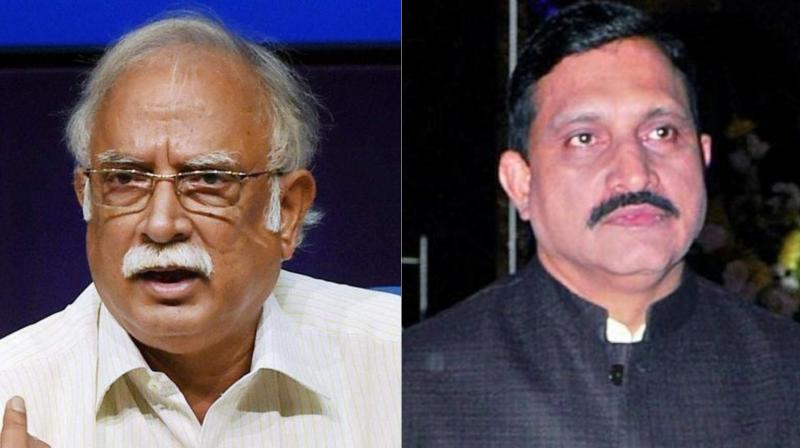 Two Telugu Desam Party (TDP) ministers -- Ashok Gajapathi Raju and YS Chowdhary -- submitted their resignation on Thursday following their meeting with Prime Minister Narendra Modi. (Photo: PTI/File)