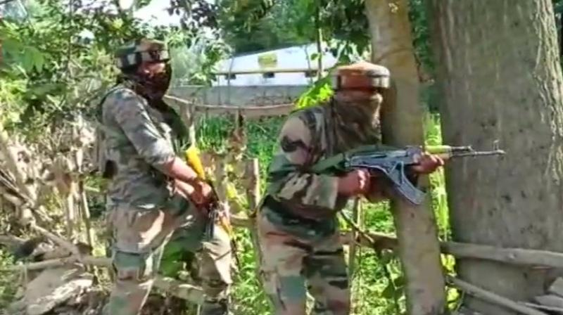 The encounter broke out in the early hours at Satgund in Handwara following a specific intelligence about presence of Wani, 27, along with two others. (Representational image | ANI)