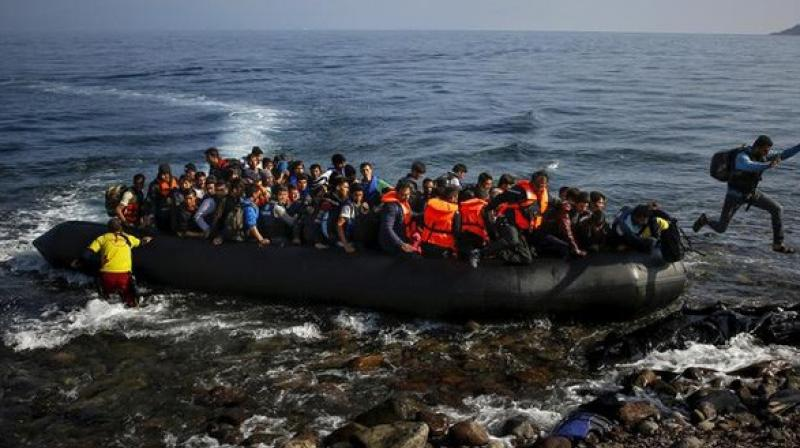 At least 62 Europe-bound migrants were rescued by Libyan Coast Guards off the country's Western Coast, the Anti-Illegal Immigration Agency has said. (Photo: ANI/ Representational Image)