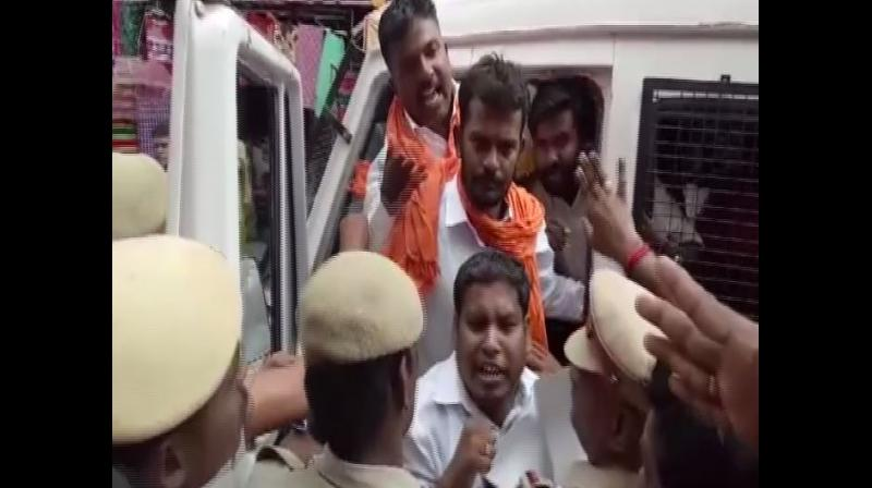 Protests at Meenakshi Amman Temple over missing statue in Tamil Nadu