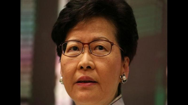 Hong Kong's leader on Tuesday hit back at a US senator who said the city is becoming a police state, a day after a massive rally called on Washington to punish Beijing over sliding freedoms in the international hub. (Photo: File)