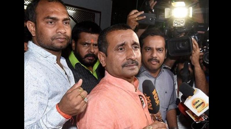 Earlier in April, the Uttar Pradesh government had withdrawn the 'Y' category security cover of MLA Sengar. (Photo: File)