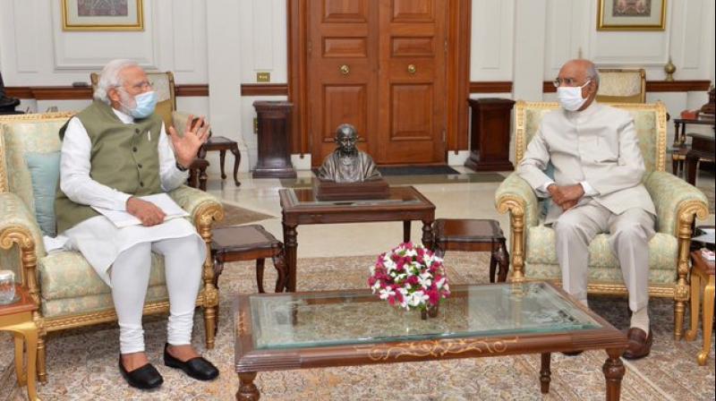 PM Modi apprises President Kovind of important issues