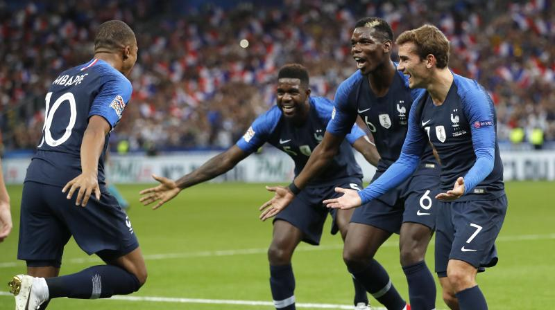 It was not the first time that Mbappe has had to temper comparisons with Pele, after a rush to crown him a future footballing great during the World Cup in Russia, where he scored four goals in total. (Photo: AP)