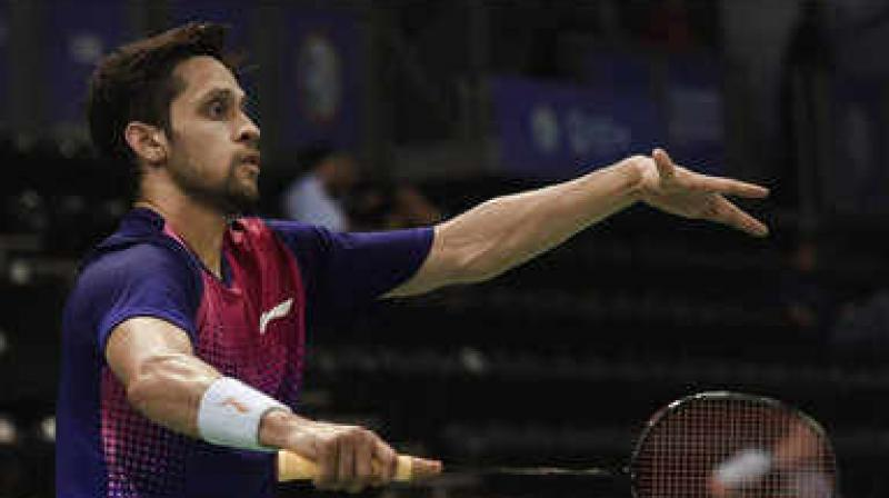India's Parupalli Kashyap bowed out of the ongoing USD 355,000 Singapore Open badminton tournament on Thursday after a 21-9, 15-21, 21-16 loss to China's Chen Long in the quarterfinals. (Photo: PTI / File)