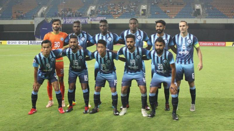 Minerva had earlier alleged that on the All India Football Federation's insistence, the Odisha government had withdrawn permission to use the stadium against Manang Marshyangdi Club of Nepal for the Group E match. (Photo: Twitter / Minerva Punjab)
