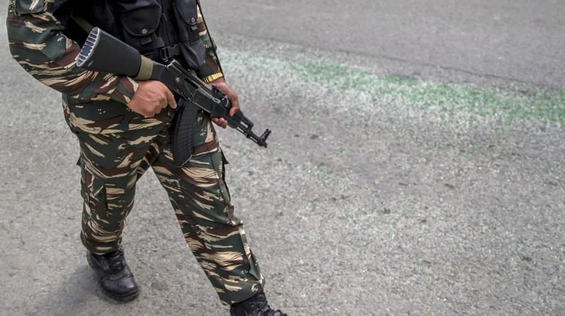 The fighting broke out at Handew after a joint team of the Army's 44 Rashtriya Rifles, J&K police's counterinsurgency SOG and CRPF launched a cordon-and-search operation on Thursday afternoon.