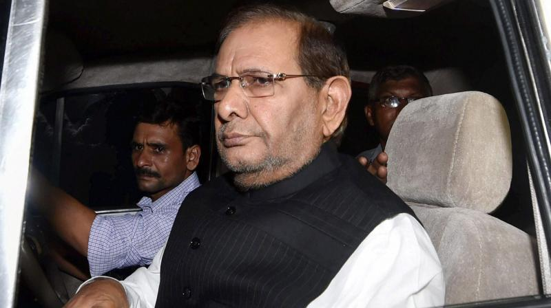 Sharad Yadav said he has spoken to Rahul Gandhi on the tie-up and suggested to him that alliances should be built in such a manner that 'division' among opposition parties is 'minimised as much as possible