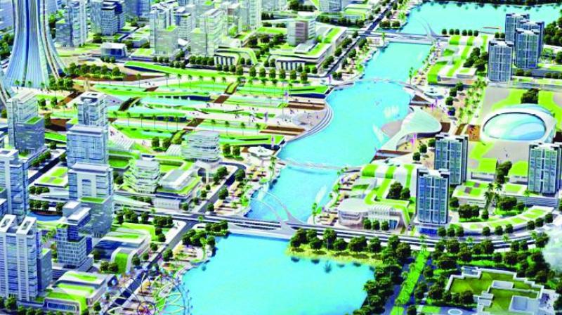Economic cities will come up in Guntur, Vijayawada, Visakhapatnam, Kurnool, Rajahmundry, and Veduruvada to provide high-qualifty infrastructure and allied amenities.