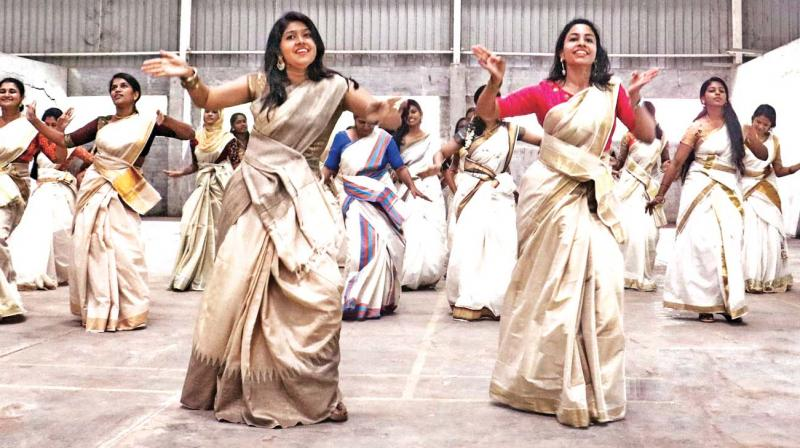 This dance video of jimikki  kammal went viral overnight.