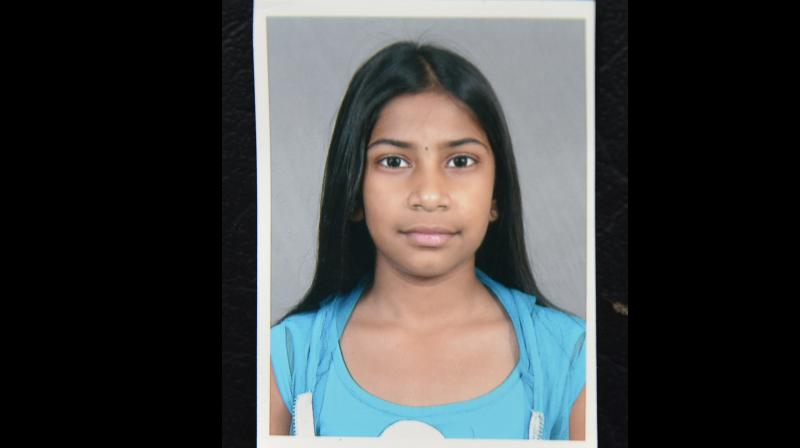 Chandini Jain, whose decomposed body was found in the hillocks of Ameenpur on Tuesday. (Photo: DC)