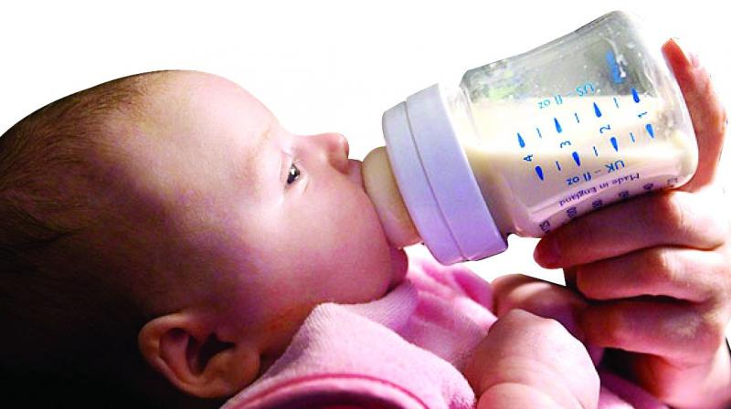 Milk allergy is a tough task for young mothers. The 3% children who suffer from this allergy have a tough time and their growth is affected. The intolerance is reduced when they are weaned away within eight to nine months.