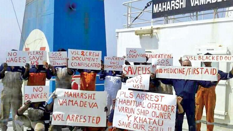 25 Indian sailors stuck in UAE for 3 months