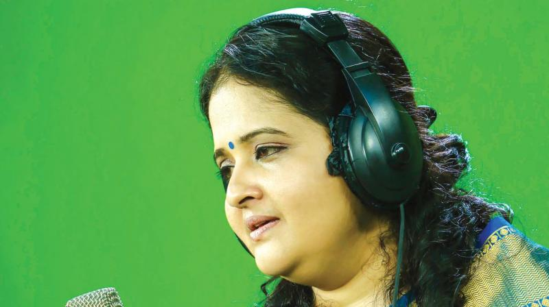 In 1992, she had her first Carnatic concert.  Now, she has completed over 700 classical concerts.