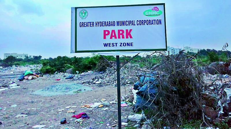 GHMC plans to set up permanent transfer unit and recreate the park, despite protests from citizens to shift it. (Photo: DC)