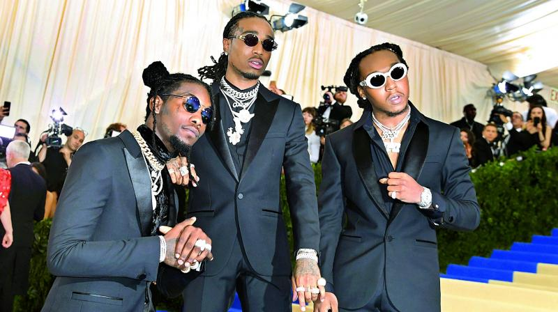 The Lion King and hip hop artist Quavo is pitching the band Migos to play the three hyenas.