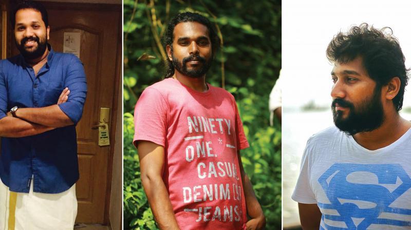 Arun Gopy, Phantom Praveen and Dominic Arun