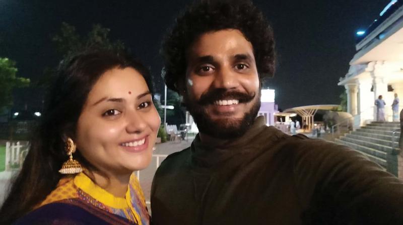 Namitha and Veerendra Choudhary