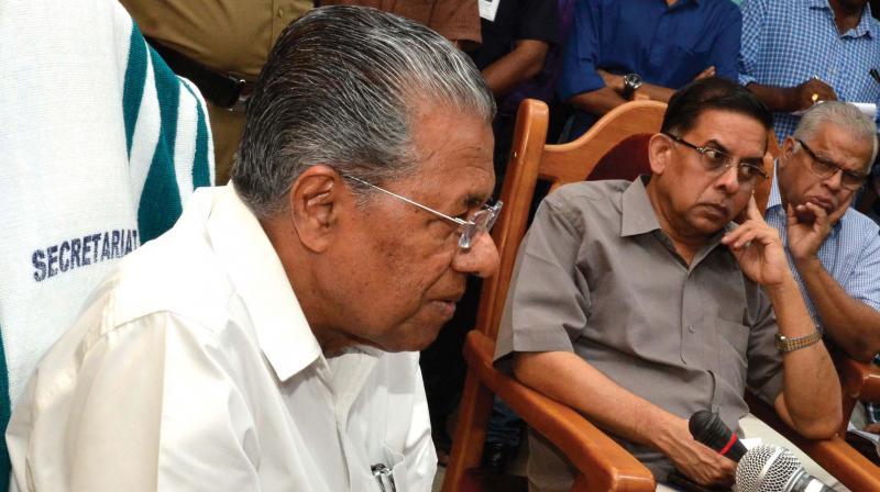 Kerala Chief Minister Pinarayi Vijayan  (Photo: PEETHAMBARAN PAYYERI)