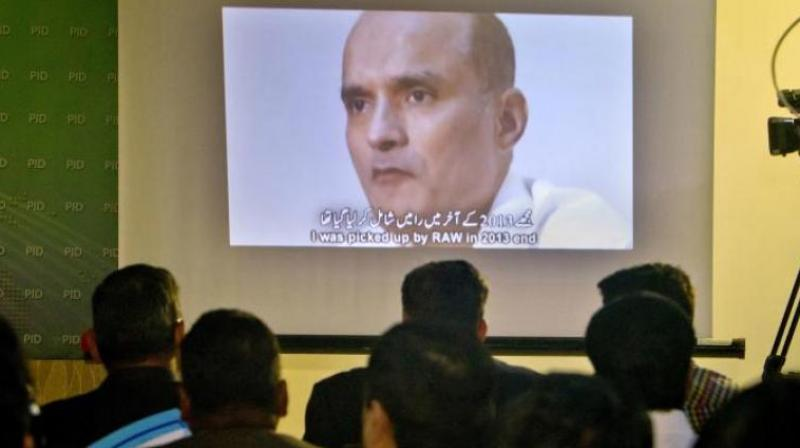 India asks Pak to allow Kulbhushan Jadhav to meet his mother