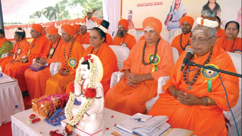 Congress in Karnataka has recommended separate religious status for Lingayats ahead of elections in that state.