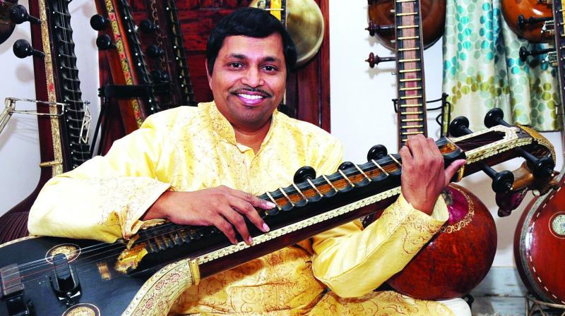 D. Srinivas, a reputed Carnatic veena artiste from the city, will perform at the two-day cultural fest Svanubhava.