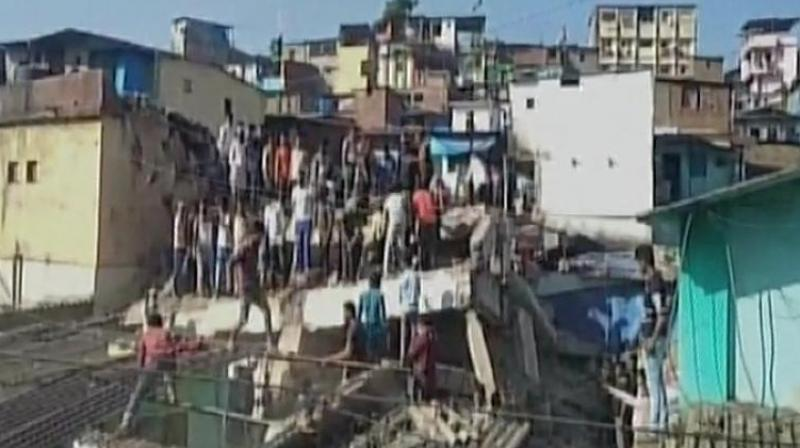 Three killed in Thane building crash, 10 injured