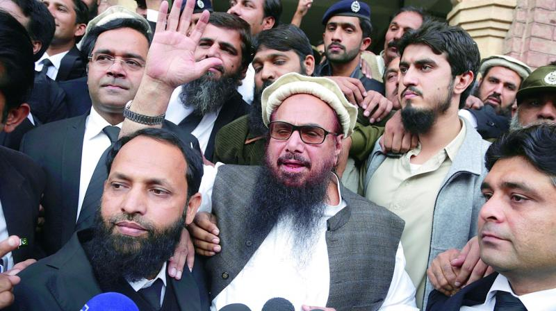 The government has banned companies and individuals from making donations to the JuD, the FIF and other organisations on the UNSC sanctions list. (Photo: File)