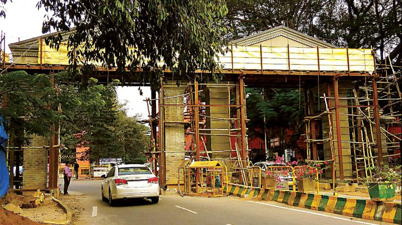 The Karnataka Parks Preservation Act of 1975 says no construction activity should happen within the park premises.
