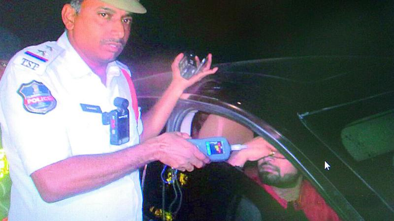 This is not the First time TV Anchor Pradeep is getting caught for Drunk and Drive