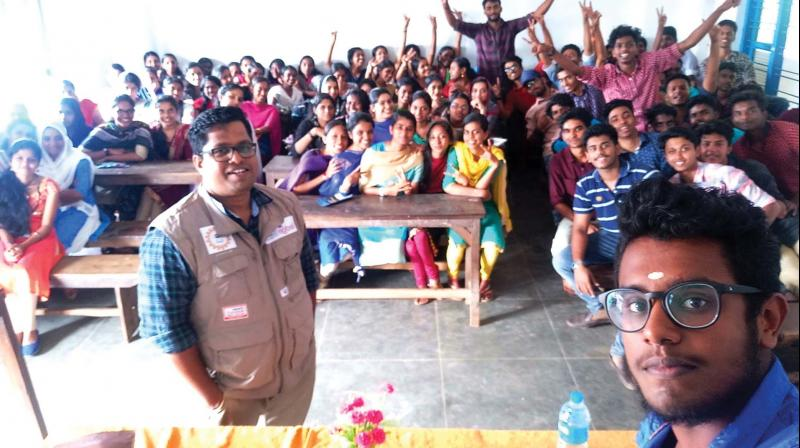 Binu takes classes for students with MBA, BBA and BCom background.