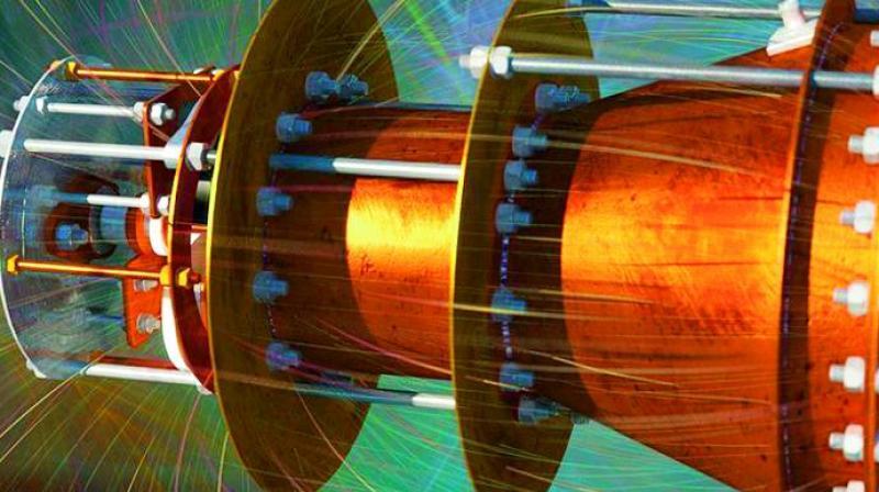 RF resonant cavity thruster.