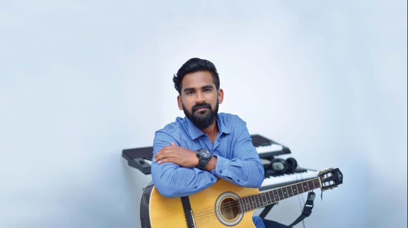 Jubair begins his  acting stint with  a song in the  upcoming movie  Oru Adaar Love.