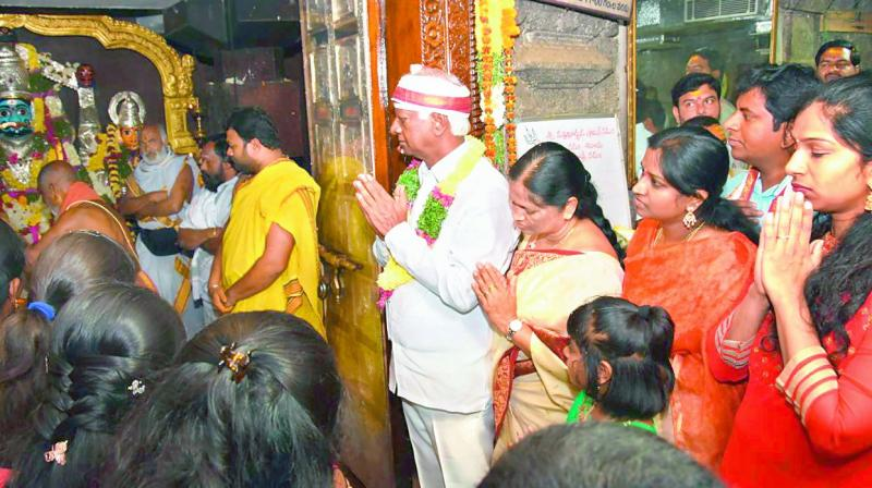 Deputy Lord Mallikarjuna Swamy (Photo: DC)