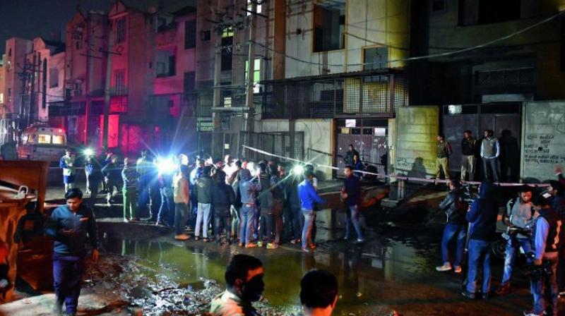 Bawana fire: AIIMS, Safdarjung ready to provide assistance,