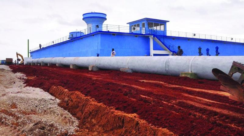 Now, bulk drinking water will be supplied to industries under Mission Bhagiratha.