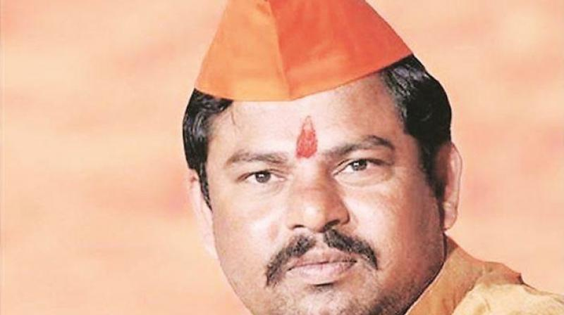 BJP MLA T Raja Singh said it was compulsory for every citizen of the nation to chant 'Bharat Mata ki Jai' and 'Vande Mataram' irrespective of their religion; those who don't should 'leave this country'. (Photo: Facebook)