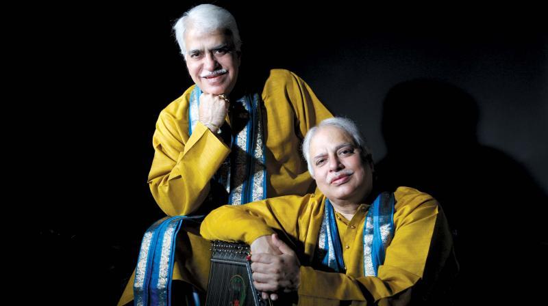 Padmabhushan Pandit Rajan and Pandit Sajan Misra.