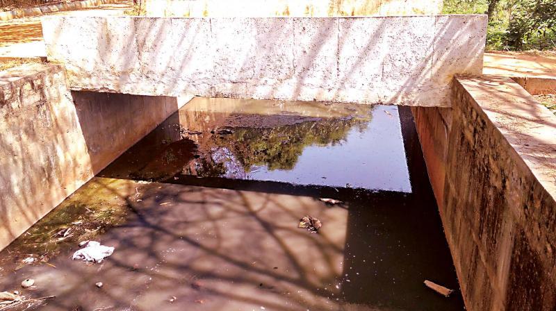 Storm Water Drain at Vidyaranyapura lake