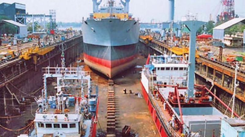 Explosion at Indian shipyard kills five workers
