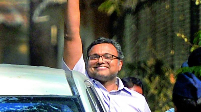 Karti Chidambaram had moved the Delhi High Court on March 8 following directions from the Supreme Court. (Photo: PTI/File)