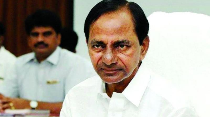 A police complaint has been filed against TS state Chief Minister K. Chandrasekhar Rao at the Moghalpura police station.