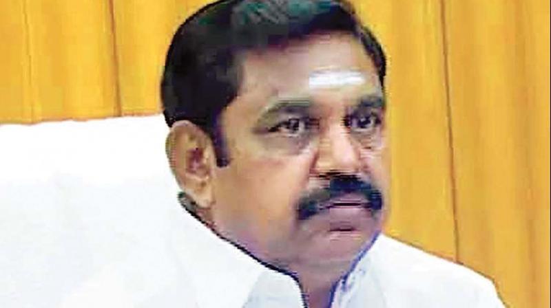 TN Chief Minister K. Palaniswami